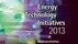 Energy Technology Initiatives